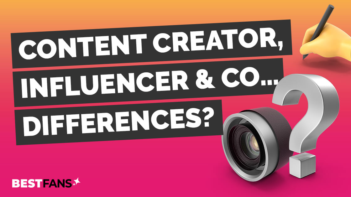 Content Creator, Influencer & Co - what makes the difference?