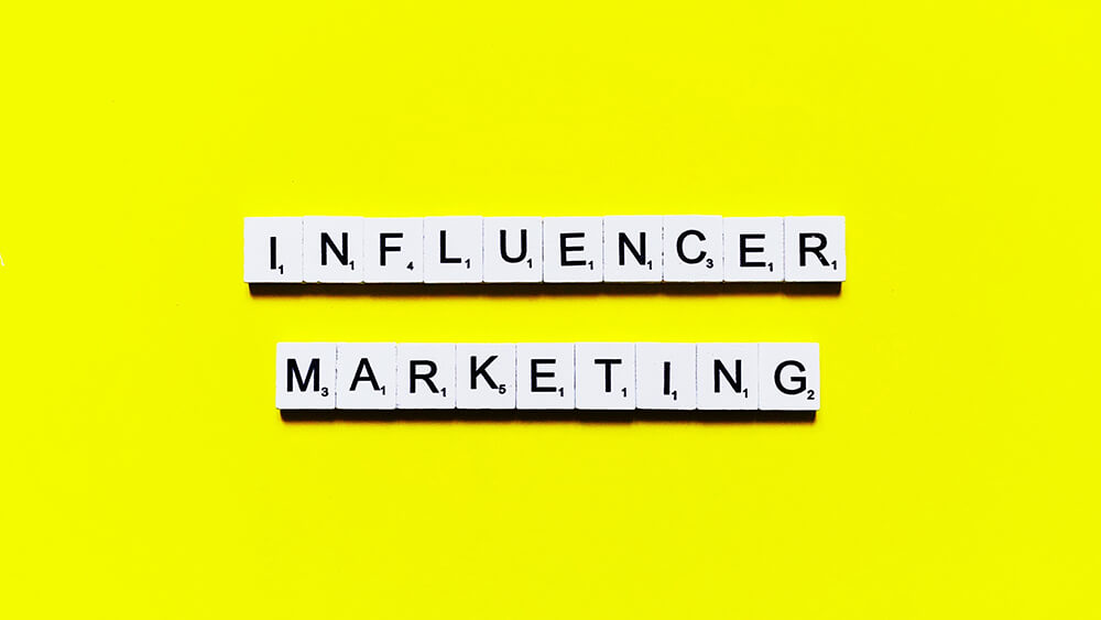Influencers are digital trendsetters.  